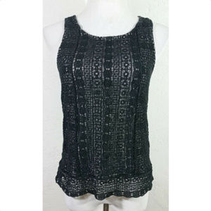 American Eagle Outfitters Small Tank Top Lace